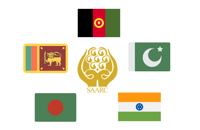 powerful country of South Asia